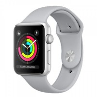 Apple Watch Series 3 -GPS -38mm Silver Aluminum Case with Fog Sport Band [MQKU2]