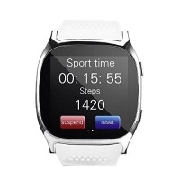Bluetooth Smart Watch-T8 [White]