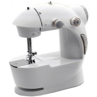 4 In 1 Mini Sewing Machine Basic Stitching [White]