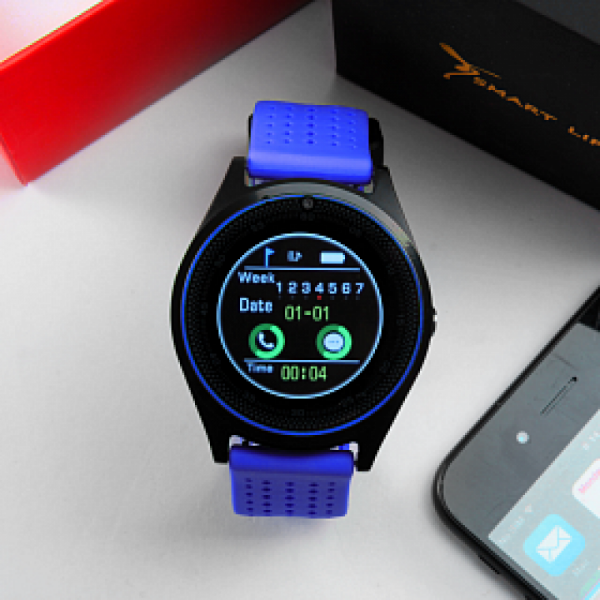 Smart Life Smart Watch-ET-SW8 [Blue]