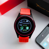 Smart Life Smart Watch-ET-SW8 [Red]