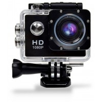 Margoun Sports Waterproof HD 1080P Action Camera (Black)
