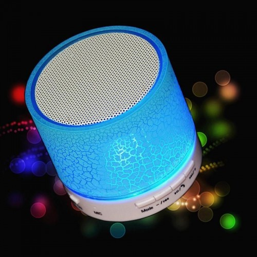 Speaker Bluetooth Light system and receive mobile phone calls and numerous uses  576 - 2  (Blue)