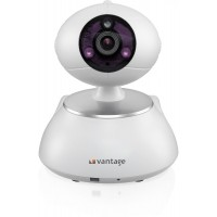 [Vantage UK Wi-Fi Pan-Tilt Home Security Smart Camera & Baby Camera/Baby Monitor With Alarm System & IR Night Vision - VP-DC400P2PCN]