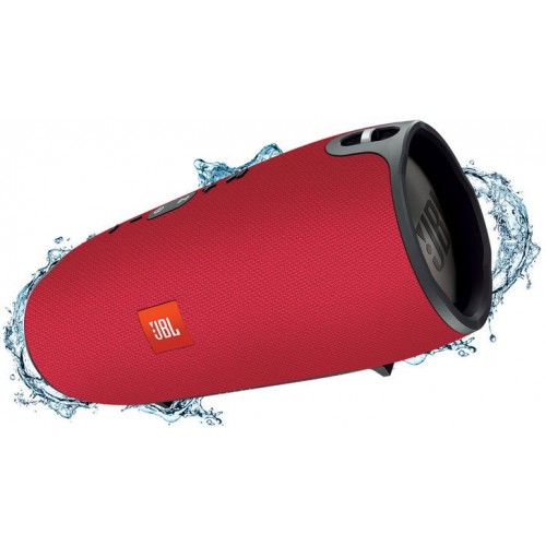 JBLXTREMEREDEU JBL Xtreme Splashproof Portable Speaker with Ultra-Powerful Performance - (Red)