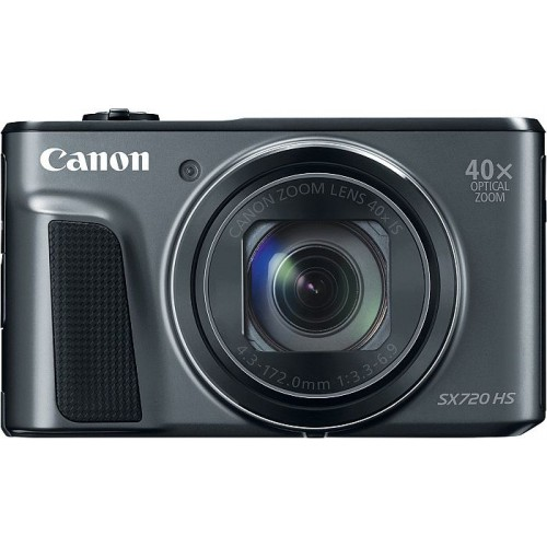 Canon PowerShot SX720 HS - 20 MP Compact Camera (Black)