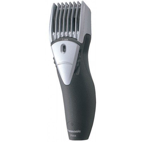 Panasonic ER206 Hair and Beard Trimmer (Black/Grey)