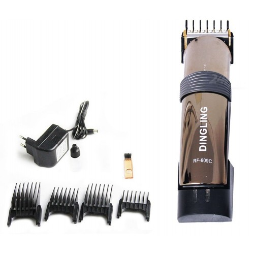 Rf-609C - Dingling Electro Plating Hair Clipper Hair Trimmer for Male