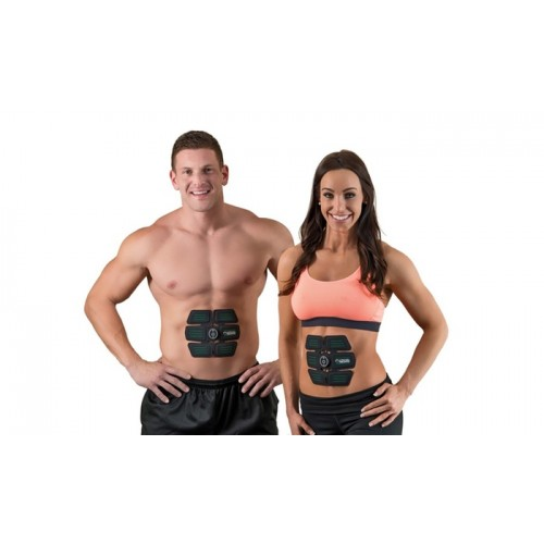 Smart EMS Rechargeable Six pack Ab Stimulator Slimming, Shaping & Toning Mobile Gym
