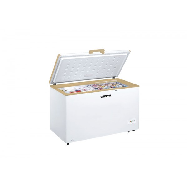 Geepas Chest freezer 410-Ltr - GCF4106WAH