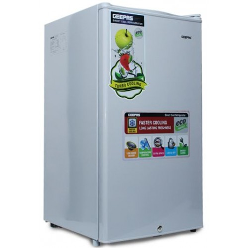 Geepas Refrigerator 110-Liter Single Door - GRF115SPE [Gray]