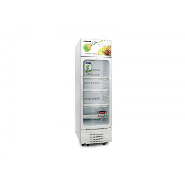 Geepas Upright Showcase Freezer 300-Ltr - GSC6548