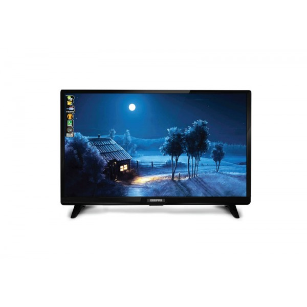 "Geepas 28"" Inch Clear HD LED TV - GLED2898EHD"