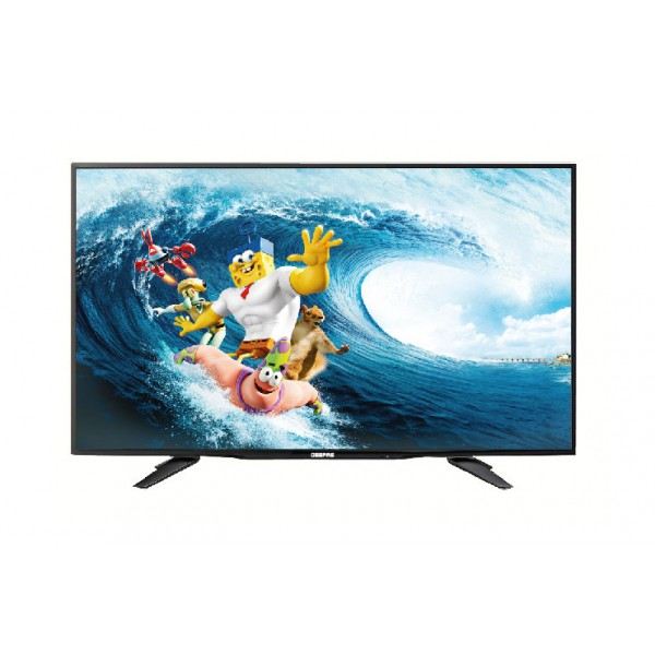 "Geepas 40"" Inch Full HD LED Standard TV Black - GLED4051EHD"