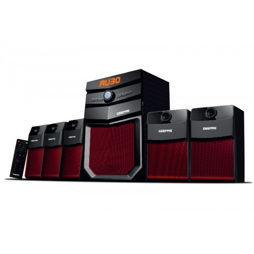 Geepas 5.1 Channel Multi-Media Speaker System - GMS8498