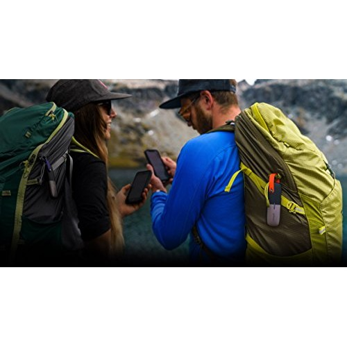 goTenna Mesh | Two Off-Grid SMS & GPS Devices that pair with any phone | Chat, Send Texts & Location Information Without Cell Service or Wi-Fi | 24-Hour Battery | Works with Android & iOS