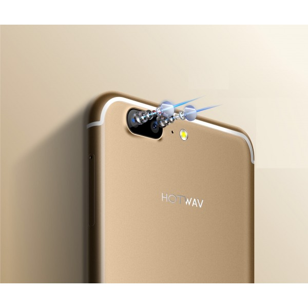 Hotwav Hot 6 - 32GB Storage, 3GB RAM, 4G LTE, 3800mAh-Gold