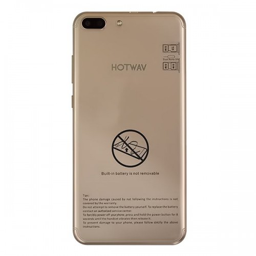 Hotwav Magic 6 - 8GB Storage, 1GB RAM, Gold