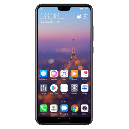 Huawei P20 Pro Single Sim - 128GB, 6GB RAM, 4G LTE, Black
