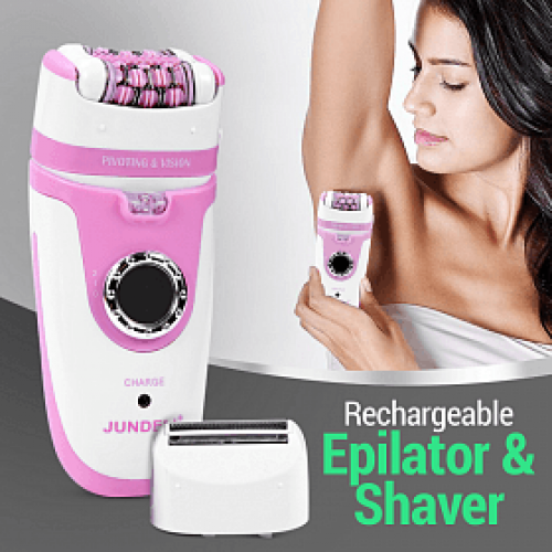 Jundeli Silk Epilator And Shaver 2 In 1 Function - JDL 6091