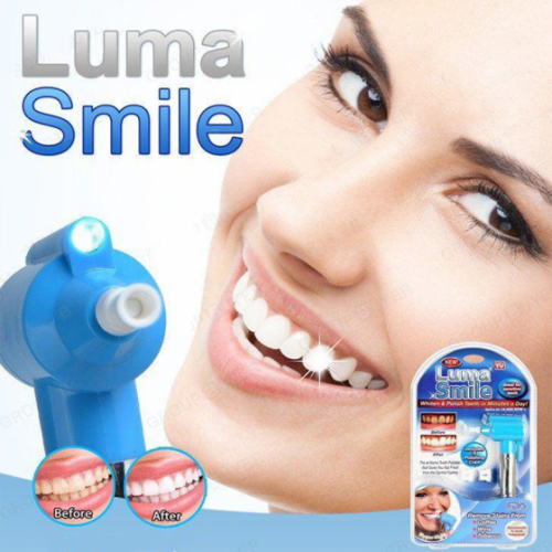 LUMA SMILE teeth whiting and polishing dental instrument