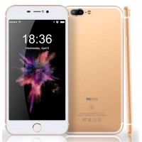 Mione I7s Plus Smartphone, 32GB, 3GB, 4G [Gold]