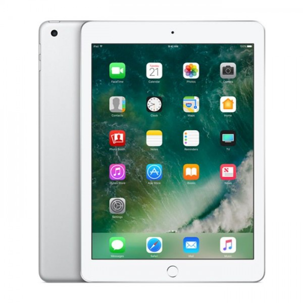 Apple iPad 9.7 2017 5th gen with FaceTime - 32GB Wifi + 4G LTE - Silver