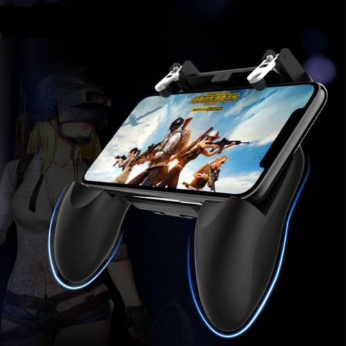 2 In 1 PUBG Mobile Controller Key Grip Gaming Joysticks Gamepad for Android iOS Compatible
