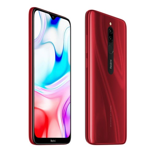 Redmi 8 (RUBY RED) , Dual SIM 3 GB RAM 32 GB 4G-LTE