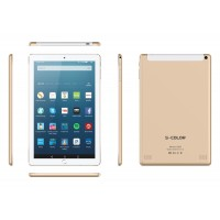 "S-Color U300, 3GB RAM, 32GB Storage, Dual Sim, 10.1"" Inch, 4G [Gold]"