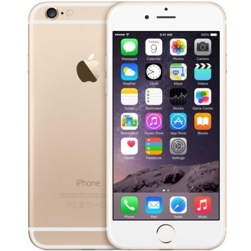 Apple iPhone 6 - 128GB, 4G LTE with FaceTime , (Gold)