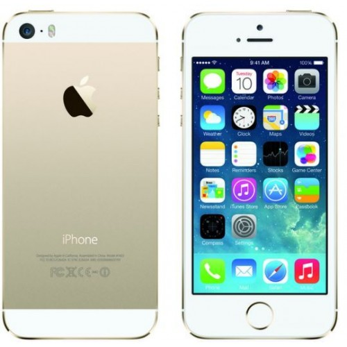 Apple iPhone 5S - 16GB, 4G LTE with FaceTime  (Gold)