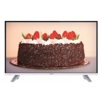 "Toshiba 43L5660 - 43"" Smart Digital LED TV - Full HD Ready - USB Movies - PC Input - 3 HDMI - 2.0 USB - [Silver Black]"