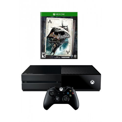 Microsoft Xbox One - 1TB With Batman Return To Arkham [Black]