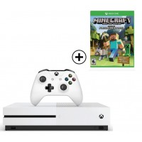 Microsoft Xbox One S - 1TB With Minecraft (Favourites Pack)