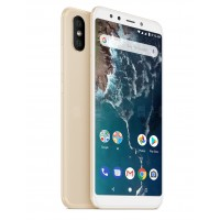 Xiaomi Mi A2 Dual Sim , Dual Camera, - 32GB, 4GB RAM, 4G LTE, Gold [Global version]
