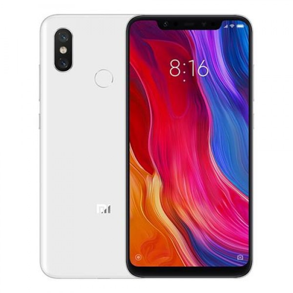 Xiaomi Mi 8, Dual Sim, Dual Camera, - 64GB, 6GB RAM, 4G LTE, White - International Version