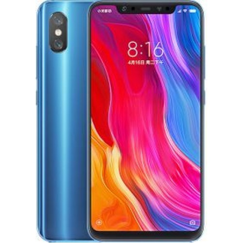 Xiaomi Mi 8, Dual Sim, Dual Camera, - 128GB, 6GB RAM, 4G LTE, Blue - International Version