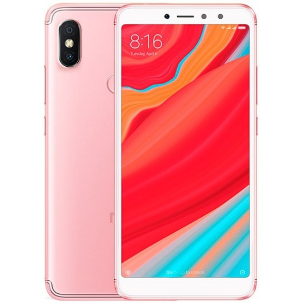 Xiaomi Redmi S2 Dual Sim , Dual Camera, - 64GB, 4GB RAM, 4G LTE, Rose Gold [International version]
