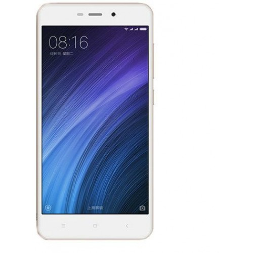 Xiaomi Redmi 4A Dual Sim - 16GB, 2GB RAM, 4G LTE, Gold - International Version