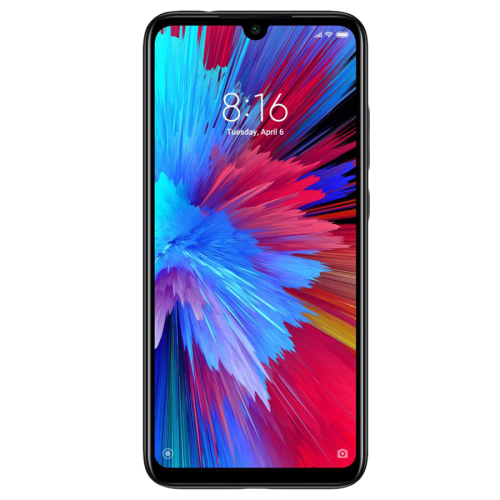 Xiaomi Redmi Note 7, Dual Sim, Dual Camera, - 128GB, 4GB RAM, 4G LTE, Black - International Version