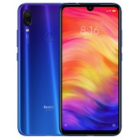 Xiaomi Redmi Note 7, Dual Sim, Dual Camera, - 128GB, 4GB RAM, 4G LTE, Blue - International Version