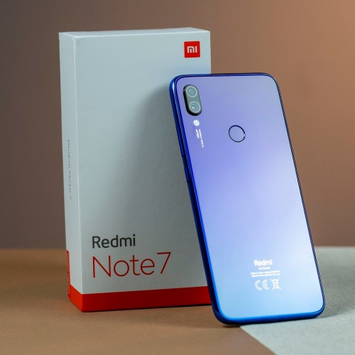 Xiaomi Redmi Note 7, Dual Sim, Dual Camera, - 32GB, 3GB RAM, 4G LTE, Blue - International Version