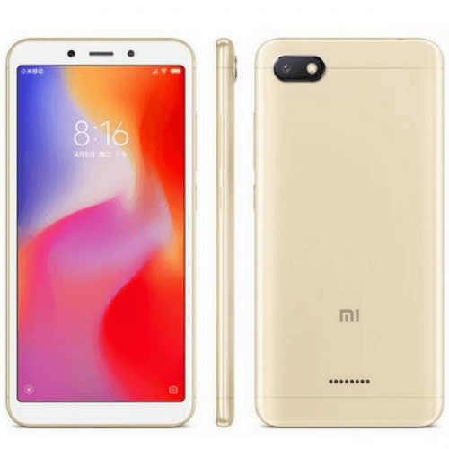Xiaomi Redmi 6A Dual Sim, 32GB, 3GB RAM, 4G LTE, Gold [International version]