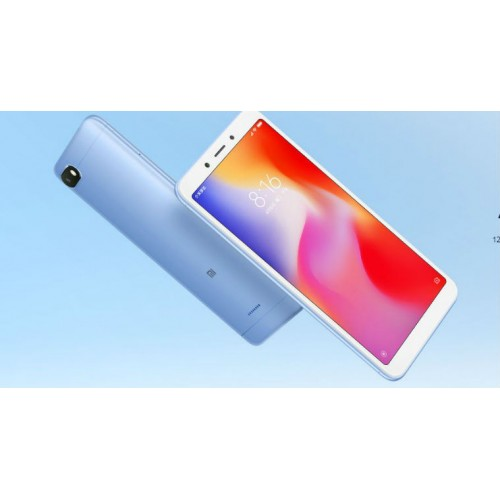 Xiaomi Redmi 6A Dual Sim, 32GB, 3GB RAM, 4G LTE, Blue [International version]