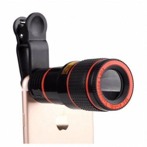 Telescopic 8x Zoom Camera Lens for Smartphone
